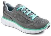Skechers S SPORT BY Women's S Sport Designed by Loop Jersey Sneaker - Performance Athletic Shoes - Grey