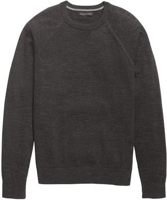 Banana Republic Organic Cotton Crew-Neck Sweater