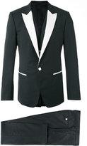 Dolce & Gabbana monochrome tuxedo - men - Silk/Polyester/Acetate/Virgin Wool - 48