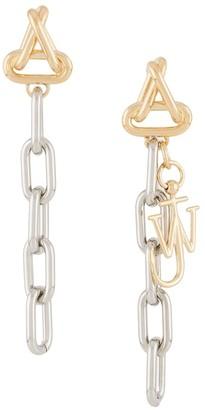 J.W.Anderson Logo Chain Earrings