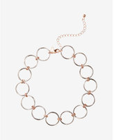 Express Circle Link Choker Necklace