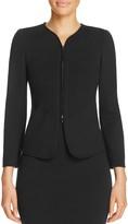 Armani Collezioni Piping-Detail Jacket