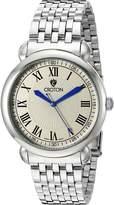Croton Men's CN307532SSSL HERITAGE Analog Display Quartz Silver Watch