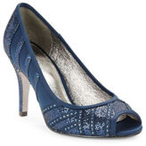 Adrianna Papell Flair Embellished Open Toe Stilettos