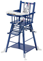 Combelle Convertible High Chair - Varnished