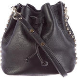 Rebecca Minkoff Leather Drawstring Bucket Bag