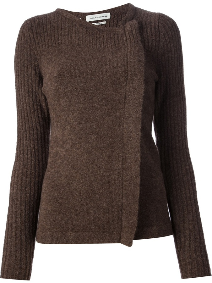 Etoile Isabel Marant wrap around sweater