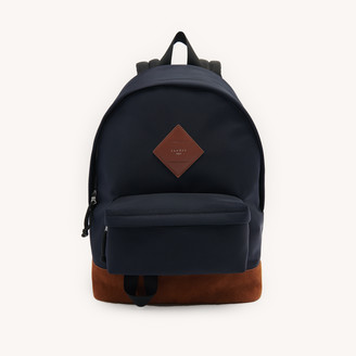 Sandro Nylon and leather backpack