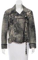 Chanel Leather Moto Jacket