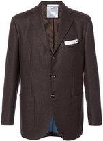 Kiton formal blazer - men - Cupro/Cashmere - 48