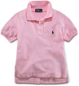 Ralph Lauren Boys 2-7 Short-Sleeved Mesh Polo