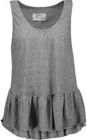 Current/Elliott The Ballet ruffled jersey tank