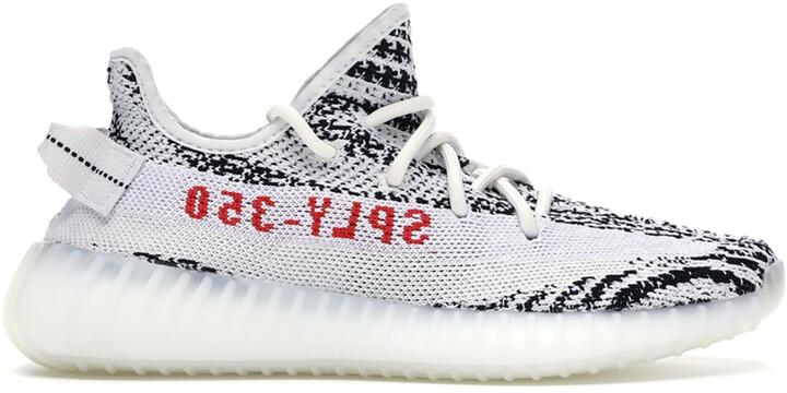 Adidas Yeezy Boost 350 V2 Zebra Sneakers Size US 9 (EU 42 2/3)