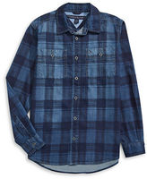 Tommy Hilfiger Plaid Denim Shirt