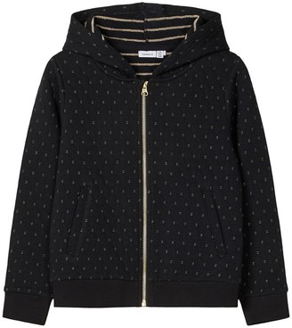 Name It Zip-Up Hoodie in Cotton Mix, 7-14 Years