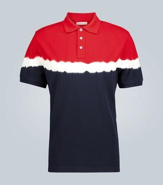 Moncler Tie-dye polo shirt
