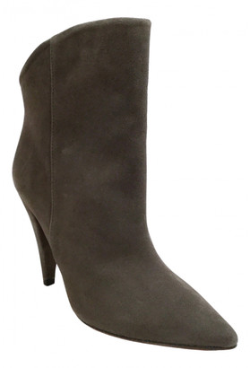 Etoile Isabel Marant Grey Suede Ankle boots