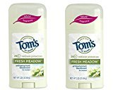 Tom's of Maine Women's Antiperspirant Stick, Fresh Meadow, 2 Count