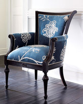 Crewel Blue Chair