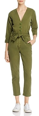 Joie Sashan Belted Cropped Jumpsuit