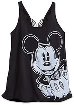 Disney Mickey Mouse Fashion Tank Top with Bow for Women Boutique