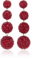 Rebecca de Ravenel M'O Exclusive Classic Ruby Slippers Earrings