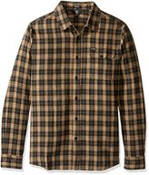 Volcom Men's Fulton Long Sleeve Flannel Shirt