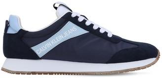 Calvin Klein Jeans 20mm Jill Nylon & Faux Suede Sneakers