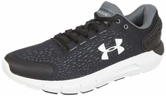 Under Armour Men's Charged Rogue 2 Running Shoe Black (001)/White 7.5