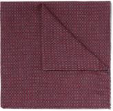 Oliver Spencer - Mélange Cotton-jacquard Pocket Square