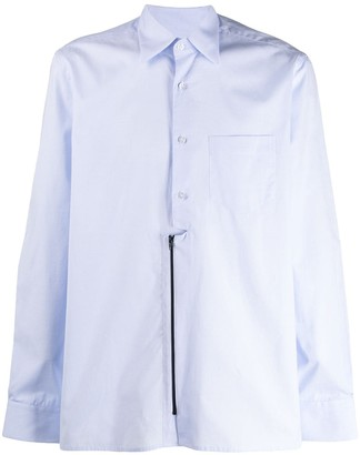 Inês Torcato Zip Front Long-Sleeved Shirt