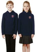 F&F Unisex Embroidered School Hoodie with As New Technology