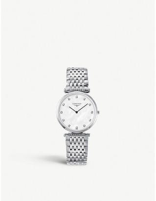 Longines L4.709.4.88.6 La Grande Classique de diamond and stainless steel watch