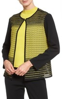 Ming Wang Women's Colorblock Knit Jacket