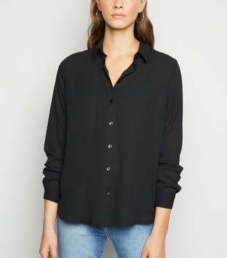 New Look Collared Long Sleeve Shirt