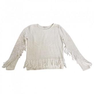 Maje White Cotton Knitwear for Women