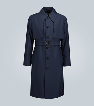Loewe Unstructured wool trench coat
