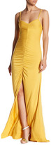 Rachel Pally Chrissy Ruched Maxi Dress