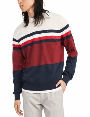 Tommy Hilfiger Men's Cotton Crew Neck Sweater