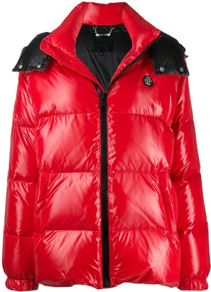 Philipp Plein 20th Anniversary Puffer Coat