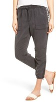 Pam & Gela Women's Beaded Crop Pants