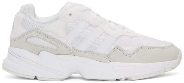 adidas White Yung 96 Sneakers