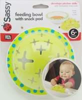 Sassy Feeding Bowl With Snack Pod