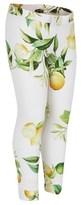 Roberto Cavalli Lemon Print Leggings
