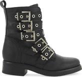 Aldo Waw leather biker boots