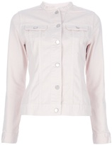 Christopher Kane J Brand fitted denim jacket