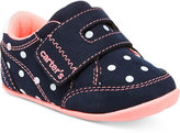 Carter's Baby Girls' Every Step Stage 2 Standing Taylor Sneakers, Baby Girls (0-4) & Toddler Girls (4.5-10.5)