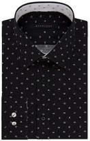Sean John Men's Classic/Regular Fit Logo Print Dress Shirt