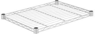 Honey-Can-Do Steel Shelf Color: Chrome