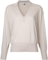 H Beauty&Youth V neck sweatshirt